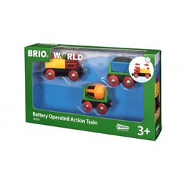 Brio Battery Train-Pilli Tren
