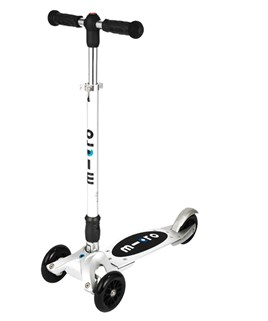 Kickboard Compact Silver T Bar Interchangeable Scooter
